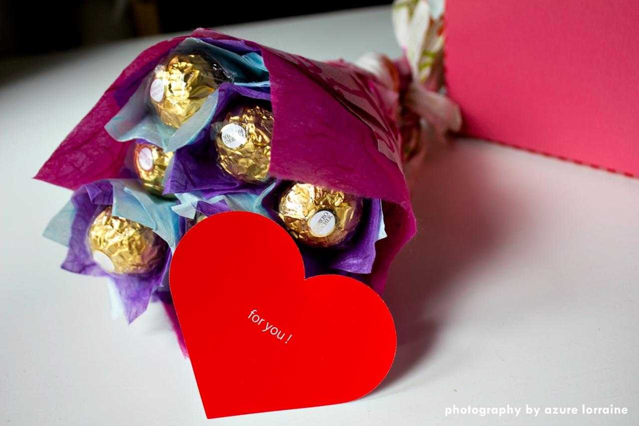 Order online express food delivery in hong kong valentines day special how to make a gorgeous chocolate flower bouquet in 30 minutes izmirmasajfo