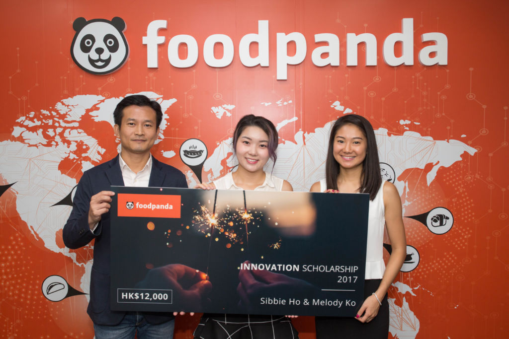 Winners of foodpanda Innovation Scholarship 2017